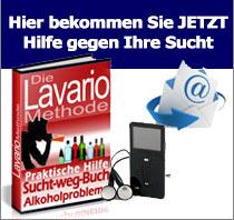 Kein Alkohol mehr mit dem Lavario-Programm Alkoholsucht